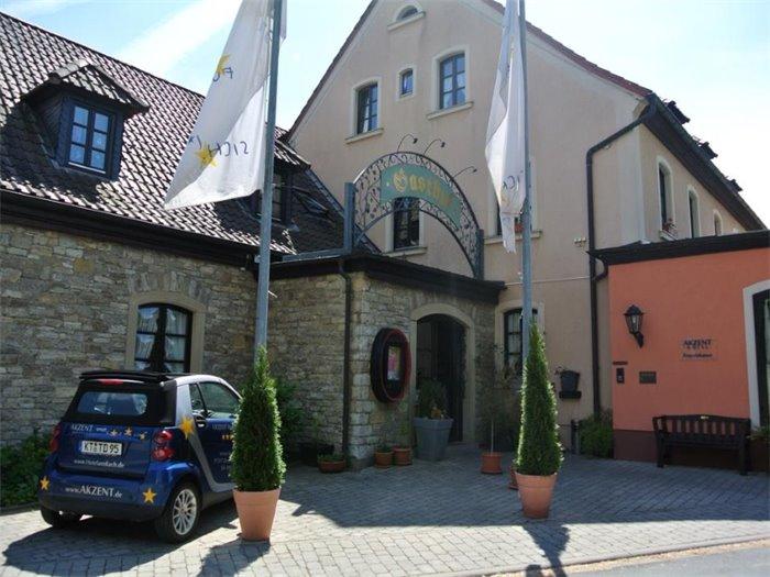 Akzent Hotel Franziskaner Tagungshotel In Dettelbach
